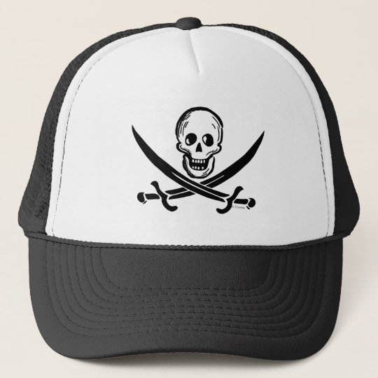 1fe19f29a60a02 Pirates of the Caribbean 5 | High Seas Danger Trucker Hat | Zazzle.com