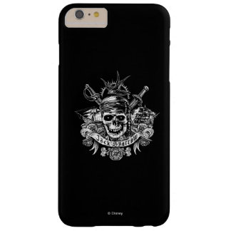 Pirates of the Caribbean 5 | Jack Sparrow Skull Barely There iPhone 6 Plus Case