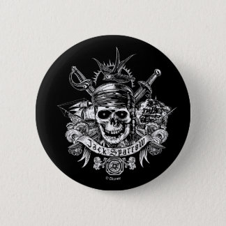 Pirates of the Caribbean 5 | Jack Sparrow Skull Button