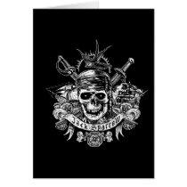 Pirates of the Caribbean 5 | Jack Sparrow Skull Card