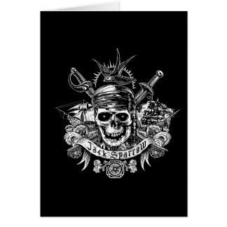 Pirates of the Caribbean 5 | Jack Sparrow Skull Card
