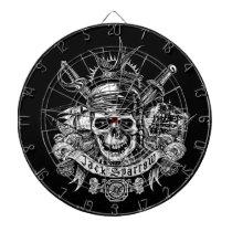 Pirates of the Caribbean 5 | Jack Sparrow Skull Dartboard With Darts