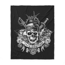 Pirates of the Caribbean 5 | Jack Sparrow Skull Fleece Blanket