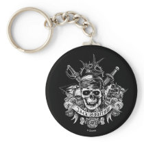 Pirates of the Caribbean 5 | Jack Sparrow Skull Keychain