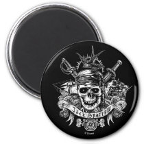 Pirates of the Caribbean 5 | Jack Sparrow Skull Magnet