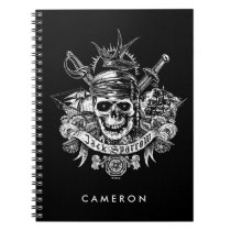 Pirates of the Caribbean 5 | Jack Sparrow Skull Notebook