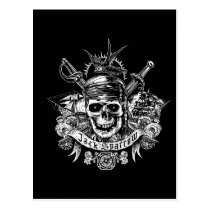 Pirates of the Caribbean 5 | Jack Sparrow Skull Postcard