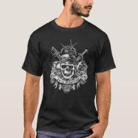 Pirates of the Caribbean 5 | Jack Sparrow Skull T-Shirt