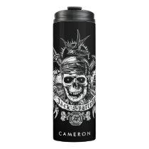 Pirates of the Caribbean 5 | Jack Sparrow Skull Thermal Tumbler