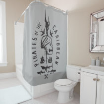 Pirates of the Caribbean 5 | Keep To The Code Shower Curtain