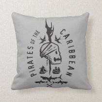 Pirates of the Caribbean 5 | Keep To The Code Throw Pillow