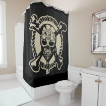 Pirates of the Caribbean 5   Lost Souls At Sea Shower Curtain
