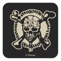 Pirates of the Caribbean 5   Lost Souls At Sea Square Sticker