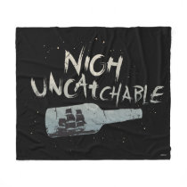 Pirates of the Caribbean 5   Nigh Uncatchable Fleece Blanket