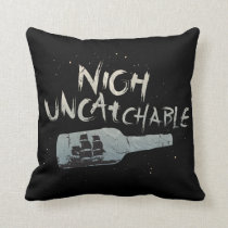 Pirates of the Caribbean 5 | Nigh Uncatchable Throw Pillow