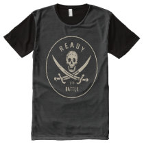 Pirates of the Caribbean 5   Ready For Battle All-Over-Print T-Shirt