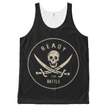 Pirates of the Caribbean 5   Ready For Battle All-Over-Print Tank Top