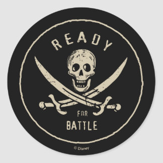Pirates of the Caribbean 5 | Ready For Battle Classic Round Sticker