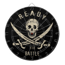 Pirates of the Caribbean 5   Ready For Battle Dartboard With Darts
