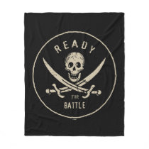 Pirates of the Caribbean 5   Ready For Battle Fleece Blanket
