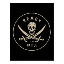 Pirates of the Caribbean 5   Ready For Battle Postcard