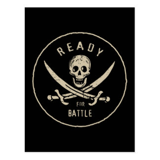 Pirates of the Caribbean 5 | Ready For Battle Postcard