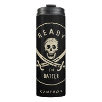 Pirates of the Caribbean 5   Ready For Battle Thermal Tumbler