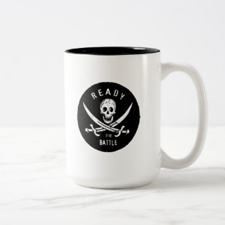 Pirates of the Caribbean 5 | Ready For Battle Two-Tone Coffee Mug