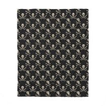 Pirates of the Caribbean 5   Rogue - Pattern Fleece Blanket