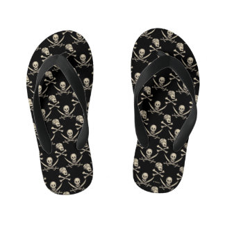 Pirates of the Caribbean 5 | Rogue - Pattern Kid's Flip Flops