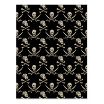 Pirates of the Caribbean 5   Rogue - Pattern Postcard