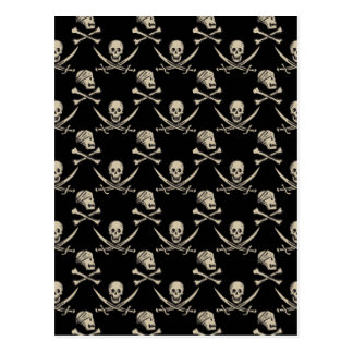 Pirates of the Caribbean 5 | Rogue - Pattern Postcard