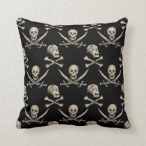 Pirates of the Caribbean 5 | Rogue - Pattern Throw Pillow