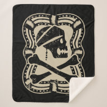 Pirates of the Caribbean 5 | Save Your Soul Sherpa Blanket
