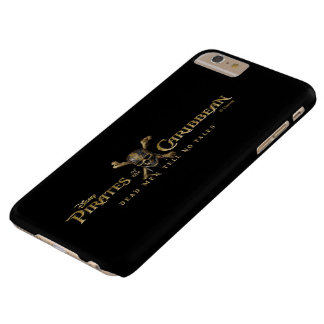 Pirates of the Caribbean 5 Skull Logo Barely There iPhone 6 Plus Case