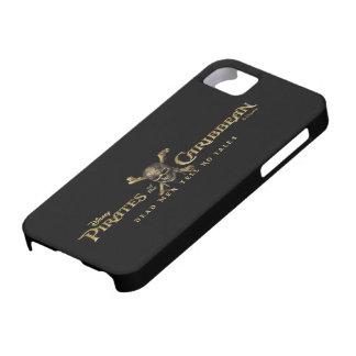Pirates of the Caribbean 5 Skull Logo iPhone SE/5/5s Case