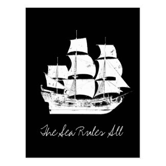 Pirates of the Caribbean 5 | The Sea Rules All Postcard
