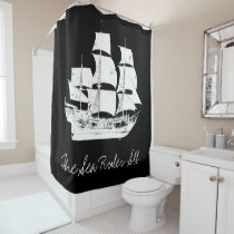 Pirates of the Caribbean 5 | The Sea Rules All Shower Curtain