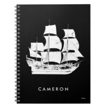 Pirates of the Caribbean 5 | The Sea Rules All Spiral Notebook