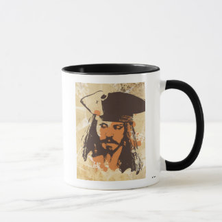 Pirates of the Caribbean Jack Sparrow graphic Mug