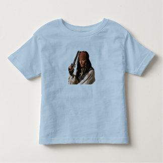 Pirates of the Caribbean Jack Sparrow with Gun Toddler T-shirt
