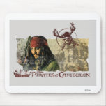 Pirates of the Caribbean Movie Art Disney Mouse Pad