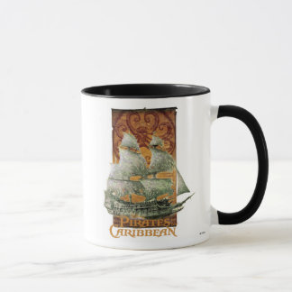 Pirates of the Caribbean Poster Art Disney Mug
