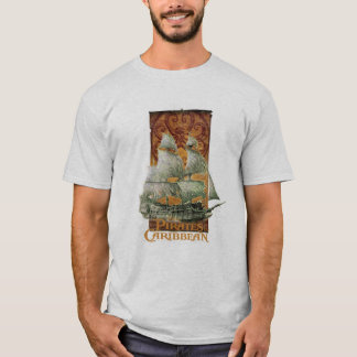 Pirates of the Caribbean Poster Art Disney T-Shirt
