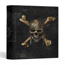 Pirates of the Caribbean Skull & Cross Bones 3 Ring Binder