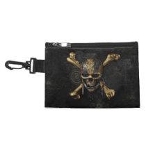 Pirates of the Caribbean Skull & Cross Bones Accessory Bag