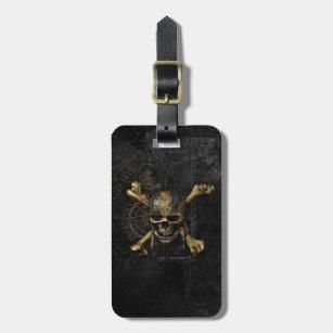 Pirates of the Caribbean Skull & Cross Bones Bag Tag