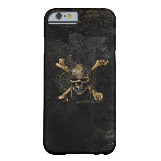 Pirates of the Caribbean Skull & Cross Bones Barely There iPhone 6 Case