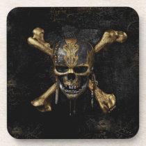 Pirates of the Caribbean Skull & Cross Bones Coaster