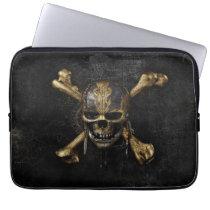 Pirates of the Caribbean Skull & Cross Bones Computer Sleeve